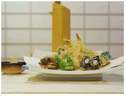 Tempura in Hamburg