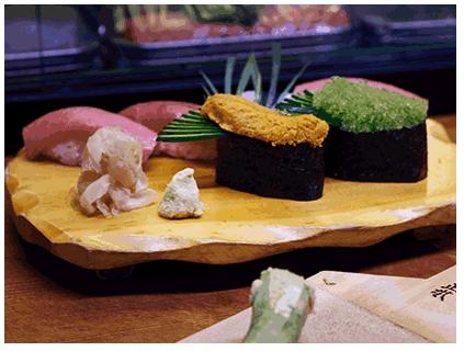 Nigiri Sushi von Meisterhand