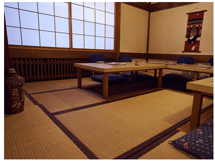 Tatami-Zimmer, japanese style room in Hamburg